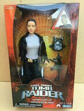 Playmates Lara Croft, Tomb Raider in Motorcycle Gear 12 inch Figure. BNIB. 2001