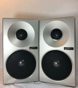 """Technics SB-F2 Matsushita Electric Co. 2 Way Speaker System """"Tested and Working"""""""
