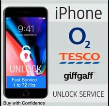02/giffgaff/tesco✅iPhone X,8/8+,7/7+,6s/6s+.SE to 3gs ✅Fast Unlocking Service✅✅✅