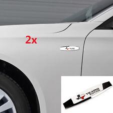2x OEM Chrome TEXAS Edition Map Emblems For GM SIERRA Chevrolet Silverado UW