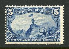 5c Trans-Mississippi Mint, Nh #288