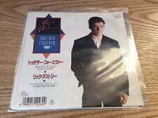 "Rick Astley – Together Forever - Japan 7"" RCA 1988 RPS-270 - All EX"