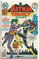 Batman Family 9 DC 1977 VF Batgirl Jokers Daughter Robin Ernie Chan