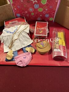 American Girl Julie Historical Original Meet Outfit Accessories Hairstyling Set