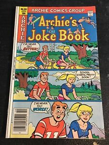 Archie's Joke Book#281 Incredible Condition 9.2(1981) Betty,Archie Bike Cover!!