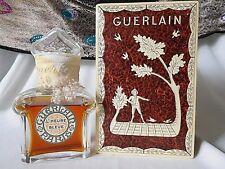 Vintage GUERLAIN L'HEURE BLEUE 80 ml / 2.77 oz Perfume Sealed, Baccarat Etched