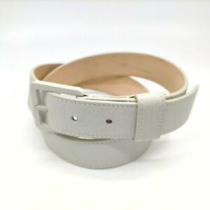 Louis Vuitton Belt  Square White Buckle  704734
