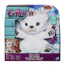 Hasbro FurReal Friends Mein verspieltes Eisbär Baby Elektronisches Haustier NEU