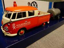 1/24 Motor Max VW T1 Pritsche mit Anhänger Road Service 79674