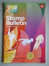 Australia Post Stamp Bulletin Issue No. 341 Jul - Aug 2016 Road To Rio