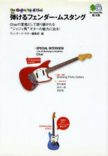 Fender Mustang book Char Japan guitar blue white red competition walnut MG69-65