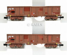 ARNOLD HORNBY 'N' PAIR OF DR OPEN BOGIE WAGONS