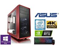 GAMER PC INTEL I7 9700K 8x 4,60GHz NVIDIA RTX 2060 6GB 32GB DDR4 500GB SSD  188