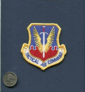 TAC Tactical Air Command USAF AIR FORCE Squadron Hat Jacket Patch
