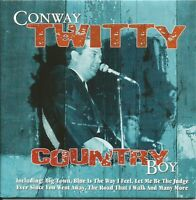 CONWAY TWITTY ~ COUNTRY BOY - 17 TRACK MUSIC CD