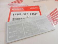 Honda CX ft 500 GL 1000 pegatinas tanque Mark fuel tank