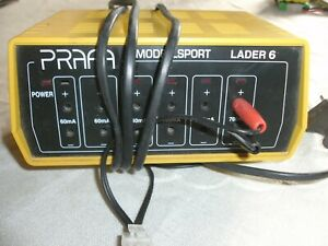 PRAFA Lader 6 mit 3 Akkus ! Top - Zustand !