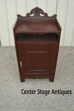 59063  Antique Victorian Sheet Music Cabinet Chest