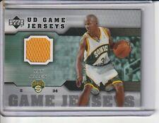 Ray Allen Sonics 2005-06 Upper Deck Game-Worn Jersey Card