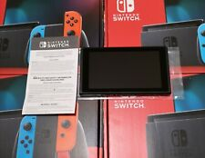 New Nintendo Switch 32GB console 2nd Gen tablet ONLY No other  Accessories