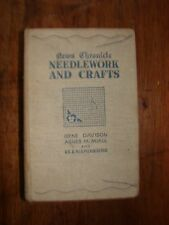 Vintage Sewing Book Davison & Miall Needlework and Crafts