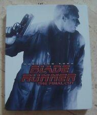 Blade Runner Final Cut*rare* Japan Blu-Ray SteelBook Harrison Ford Ridley Scott