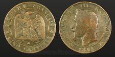 France 1861 K 5 Cinq Centimes