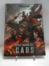 Warhammer 40k Codex Space Marine del Caos