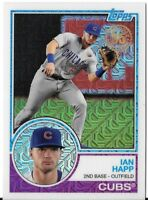 IAN HAPP 2018 Topps Series 1 1983 TOPPS CHROME Silver Pack #29 CUBS