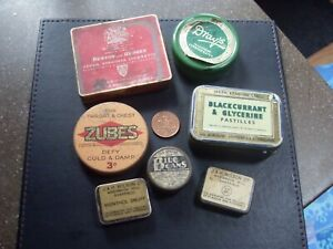 Old Collectable vintage tins