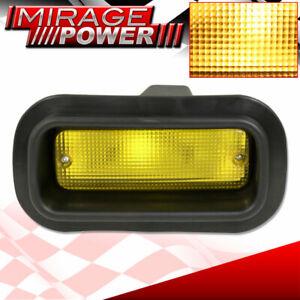 For Gmc Usdm JDM Style Rear Bumper Driving Running Fog Light Lamp Yellow Lens