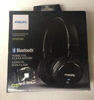 Philips SHB5500 sans Fil Casque Bluetooth - Noir - pour Pièces