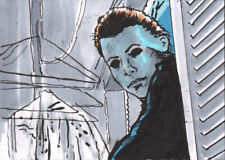 Halloween Michael Myers Print SIGNED by MATTHEW PARMENTER
