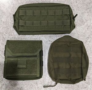 Molle Pouch LOT Never used *Olive Dab* Condor Outdoor, Maxpedition, Pantac USA