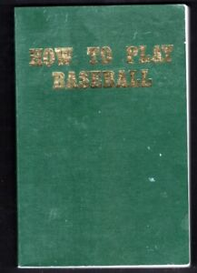 """1973 SPORTING NEWS """"HOW TO PLAY BASEBALL"""" COMPLETE WITH PLAYER ILLUSRATIONS"""