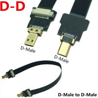Micro HDMI Male to Micro Hdmi Flat FPV HDTV Cable Multicopter Aerial Photography