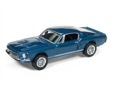 1/64 RACING CHAMPIONS 5A2 1968 Ford Shelby Mustang GT500KR (Acapulco Blue