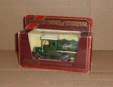 Matchbox Models of Yesteryear Y-3 1912 Model T Ford Tanker Castrol 1:35 1978