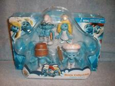 Smurfs Movie Figure 4 Pack Brainy Smurfette White Clumsy Baker Jakks Pacific