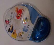 Tapis souris en gel bleu