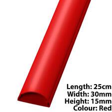 25 cm - 30 mm x 15 mm ROSSI Cavo HDMI/AUDIO coperchio della canalizzazione/Tubo Protettivo-AV/PC Muro