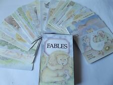 36 Fable Cards....Based On Aesop's Tales...Birthday Gift/Party Favour? **SALE**