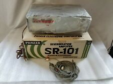 Vintage Pioneer SR-101 Tube Spring Reverberation Amplifier - Original Box