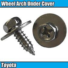 10x Wheel Arch Splash Guard Under Tray Shield Screws For Toyota 90159A0010