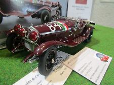 ALFA ROMEO 6C 1750 GRAND SPORT #84 de 1930 au 1/18 de CMC M141 voiture miniature
