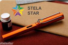 Lamy Al-Star Exclusive All-Star Fountain ORANGE Pen Ink Converter Gift Box