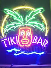 "New Tiki Bar Totem Pole Neon Sign 20""x16"""