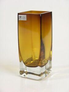 #3981 - GRAL Glas Vase ~ 1960 - Kristallglas