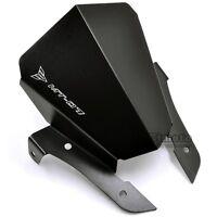 Pare-Brise Noir Pour Yamaha MT07 MT-07 2013 2014 2015