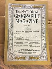National Geographic June 1928 Issue - Volume LIII Number Six (NG7)